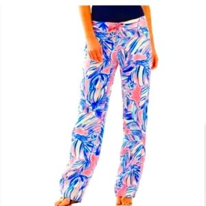 Lilly Pulitzer Linen Galley Beach Pants 00